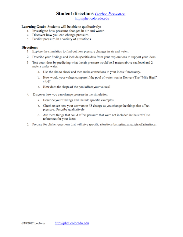 How can I design an effective in-class student worksheet ...